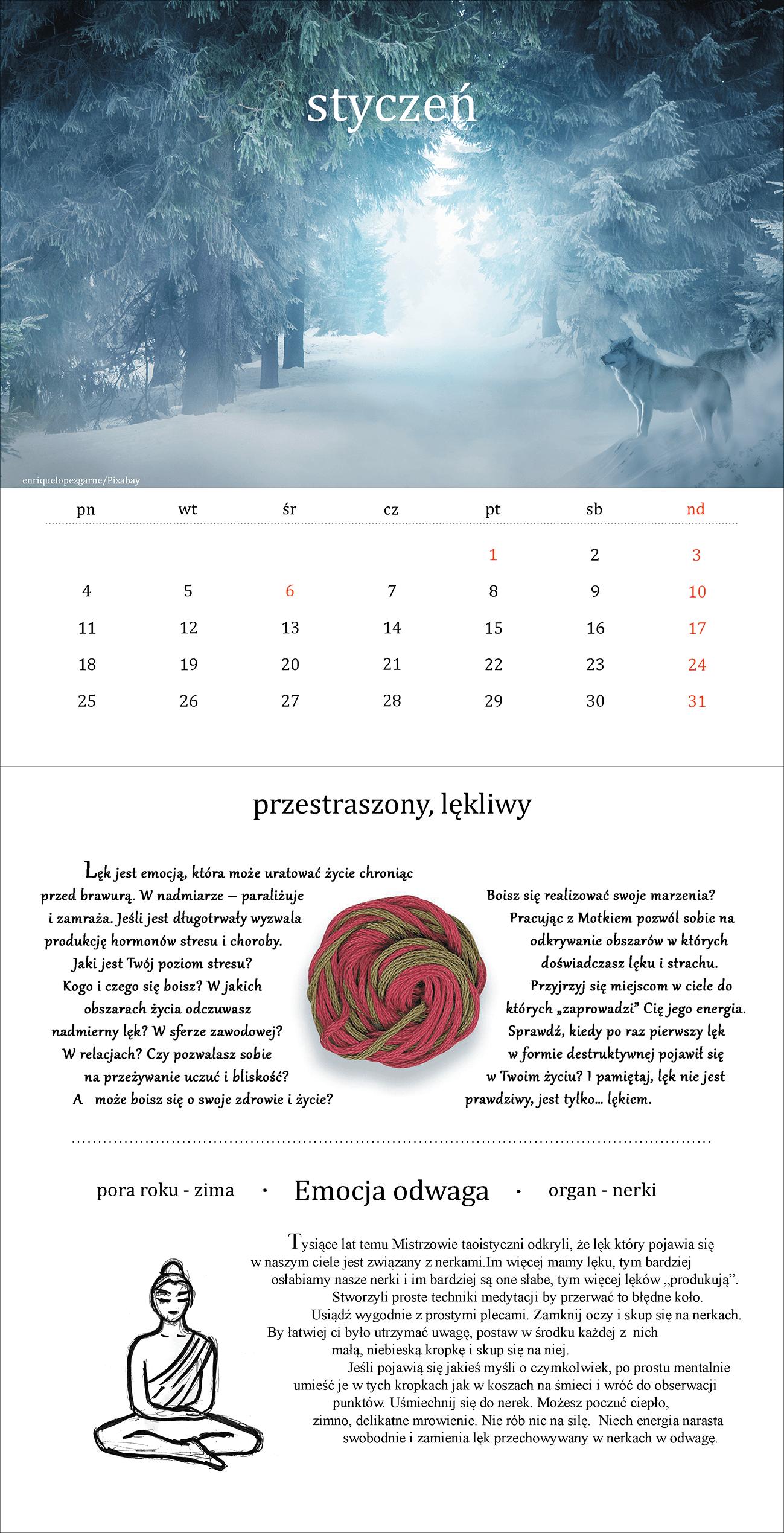 Kalendarz - styczeń